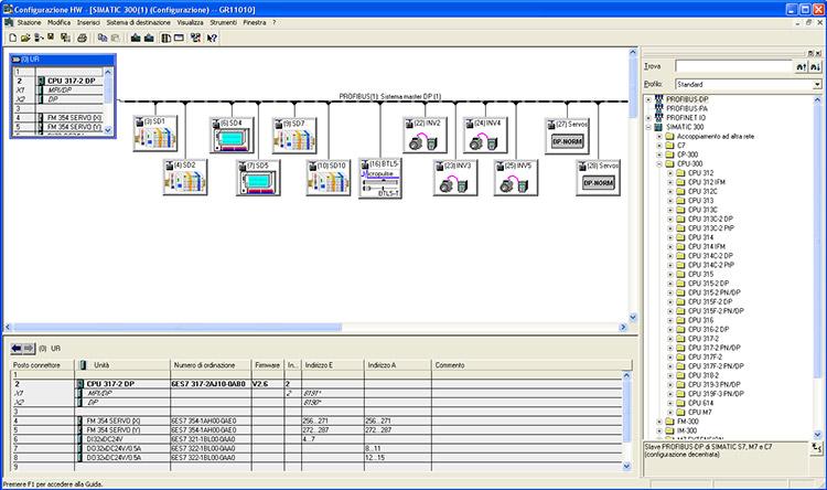 progettazione quadri elettrici e software per automazione